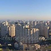 Фотокартина на пластике Киев с высоты фото