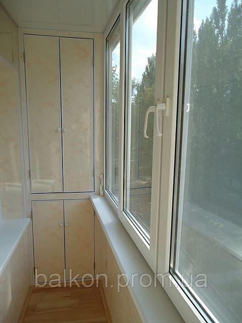 Внутренняя обшивка балконов цена 250 грн. заказать в киеве ф.