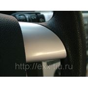 Ford Focus: накладки рулевого колеса, цвет серебро