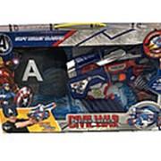 Набор CIVIL WAR Captain America Бластер с мягкими пулями и маска SB272A фото