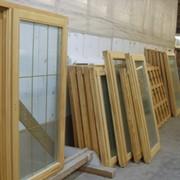 Окна деревянные экологические фото