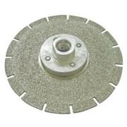 Круг алмазный (EDL40C125) для резки и шлифовки мрамора М14 диам. 125мм фото