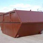 Бункер бытовых отходов фото