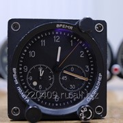Часы авиационные малогабаритные, ЧАМ-756 фото
