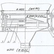 Виброразгрузочное устройство марки Ш2-ХМГ-200/150 фото