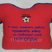 Подушка-футболка Любимый клуб - ЦСКА