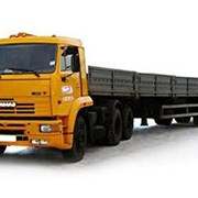 Аренда бортового грузовика. Длинна борта 12 метров фото