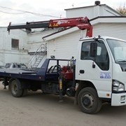Услуги авто эвакуатора от 1,5-3,5 тонн.  фото
