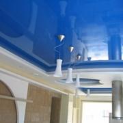 Глянцевые натяжные потолки. Гарантия 3 года  фото