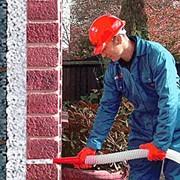 Утеплення будинків рідким пінопластом (піноізолом) фото