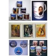 Термоперенос на керамику, ткани, значки, магниты, магнитные визитки фото