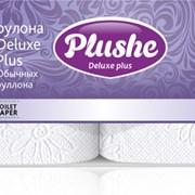 Трехслойная туалетная бумага высшего качества Deluxе Plus Белая фото