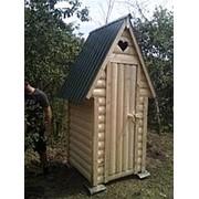 Туалет дачный «Стрела из Блок-хауса» фото