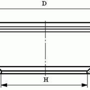 Круги из кубического нитрида бора (КНБ) для обработки пластин из быстрорежущих сталей на керамической связке формы 6А2ВТ фото
