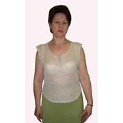 Блузка из льна фото