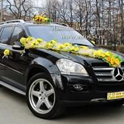 Черный джип Мерседес GL500 на свадьбу