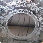 Гравировка на стекле и зеркале фото