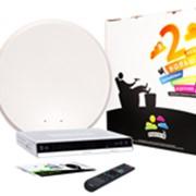 Комплект спутникового оборудования Радуга ТВ № 4 с подпиской на Базовый пакет - 1 месяц фото