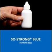 Жидкий концентрированный краситель синего цвета для полиуретанов SO-Strong Blue фото