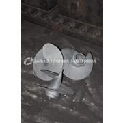 Литые наконечники для винтовых свай 300/133 фото