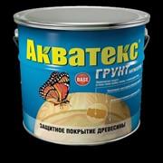Грунт-антисепт Акватекс 10,0л фото