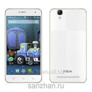 """Телефон Mijue M500 5"""" Quad-Core Android 4.4.2 KitKat 3G Smart Phone 8GB Белый 86688 фото"""