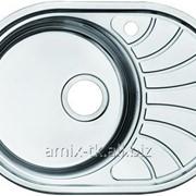 Кухонная мойка Suno S овал, модуль 45см - SUN65SRi77 фото