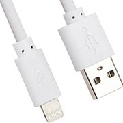 Кабель USB Apple lightning Glossar iP5-02 Smile для iPhone 5 black фото