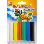 Пластилин плавающий 6 цветов фото