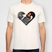 Прямая печать на белой футболке до 50 шт. фото