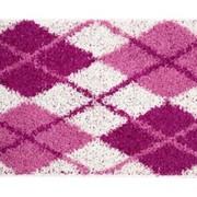 Коврик Shaggy из 1- шт 60х100см (розовый) (1/30) фото