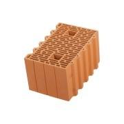 Блок керамический Porotherm 38 фото