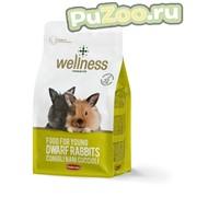 Padovan wellness food for young dwarf rabbits - корм для кроликов карликовых пород в возрасте до 1 года падован веллнесс фото