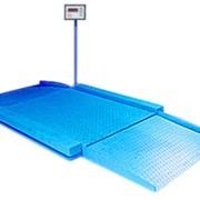 Весы платформенные электронные низкопрофильные ВЭПН фото