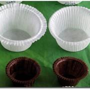 Бумажные капсулы для выпечки Маффинов со свёрнутым краем