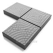 Тротуарная плитки Паутинка фото