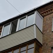 Мойка балконов/лоджий фото