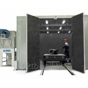 Комплекс для абразивоструйной очистки трубопроводной арматуры ПКТБА-КД...ПКТБА-КД-3 фото
