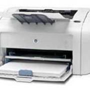 Принтер HP LaserJet 1018 фото