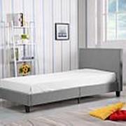 Кровать Halmar LOGO (серый) фото