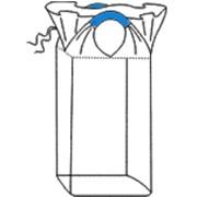 Биг-бэг мешки МКР 60х60х140, две стропы, плотность 140г/м2, с верхней сборкой фото