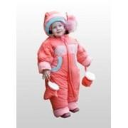 Комбинезон для девочки утепленный зима Ч-8110 фото