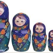 Матрешка Ксюша 4 кук. фото
