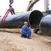 Строительство магистрального газопровода фото