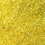 Глиттер - цвет желтый 100г фото