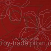 Глянцевая пленка ПВХ для МДФ фасадов Лотос бордовый фото