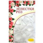 Лепестки роз WHITE 30гр фото