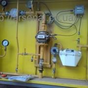 На базе счётчика газа GMS-G25-ДУ40 и корректора объёма газа КПЛГ-1.02Р + счётчик газа мембранного типа для малого потребления газа фото