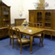 Столовый гарнитур в стиле Луи XV старинный фото