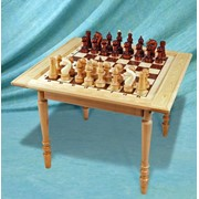 Стол шахматный павильонный фото